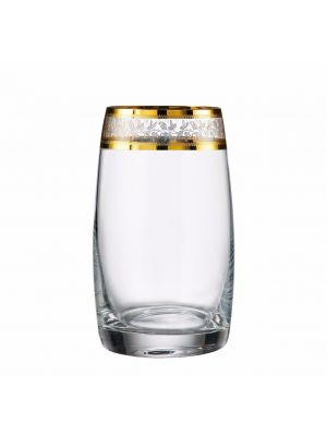 Set 6 Pahare Cristal Bohemia Apa/Long drink